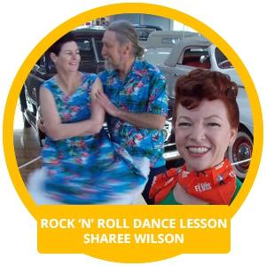 Rock 'N' Roll Dance Lessons - Sharee Wilson