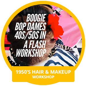 1950's Hair & Makeup Workshop with Miss Pixie