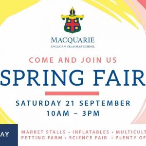 MAGS Spring Fair 2019