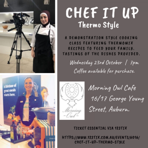 Chef It Up - Thermo Style