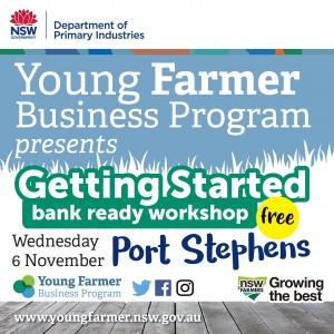 Getting Started - Bank Ready Workshop PORT STEPHENS