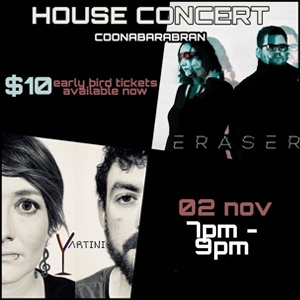 Coonabarabran House Concert