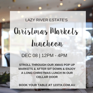 Christmas Markets Luncheon