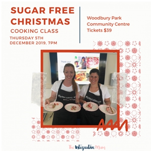 Sugar-Free Christmas Cooking Class