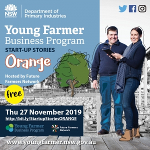 Young Farmer Business  Program Startup Stories: ORANGE
