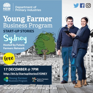 Young Farmer Business  Program Startup Stories: SYDNEY