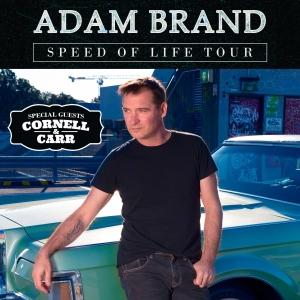 Adam Brand - Speed of Life Tour