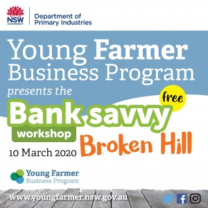 Bank Savvy Workshop BROKEN HILL