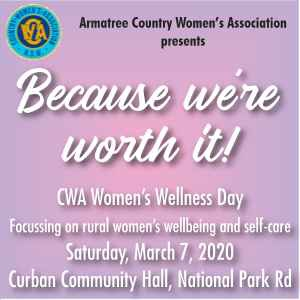 'Because We're Worth it' - Women's Wellness Day by Armatree CWA