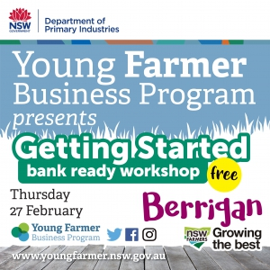 Getting Started - Bank Ready Workshop BERRIGAN