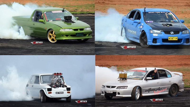 Dubbo Nats Burnout Competition
