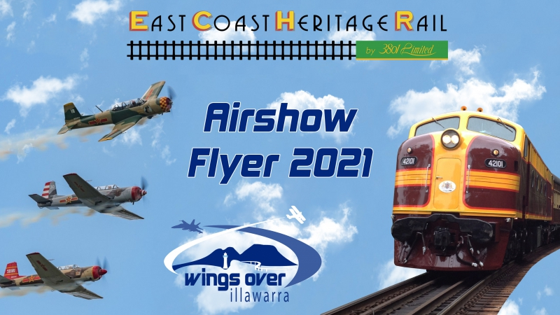 Wings Over Illawarra: Sunday Airshow Flyer