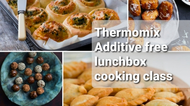 Thermomix Additive Free Lunchbox cooking class
